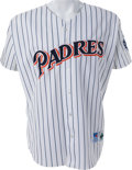 Baseball Collectibles:Uniforms, 1999 Tony Gwynn Hit #2975 Game Worn San Diego Padres Jersey & Pants....