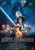 "Movie Posters:Science Fiction, Return of the Jedi (20th Century Fox, 1983). Swedish One Sheet(27.5"" X 39.25""). Science Fiction.. ..."