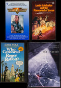 Movie Posters:Animation, Who Censored Roger Rabbit by Gary Wolf and Others Lot (BallantineBooks, 1981). Autographed Books (4) (1 Hardbound, 3 Paperb...(Total: 4 Items)