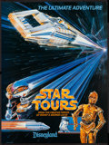 "Movie Posters:Science Fiction, Star Tours (Disney, 1986). Poster (18"" X 24""). Science Fiction....."