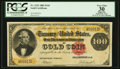 Large Size:Gold Certificates, Fr. 1212 $100 1882 Gold Certificate PCGS Apparent Very Fine 30.. ...