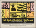 "Movie Posters:Adventure, Those Magnificent Men in Their Flying Machines (20th Century Fox,1965). Half Sheet (22"" X 28""). Adventure.. ..."