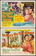 "Movie Posters:Adventure, Valley of the Kings (MGM, 1954). Half Sheets (22"" X 28"") Style A& B. Adventure.. ... (Total: 2 Items)"