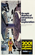 "Movie Posters:Science Fiction, 2001: A Space Odyssey (MGM, 1968). One Sheet (27"" X 41"") Style C....."