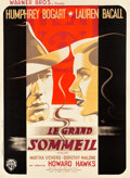 "Movie Posters:Film Noir, The Big Sleep (Warner Brothers, 1947). French Grande (47"" X 63"") Portrait Style.. ..."