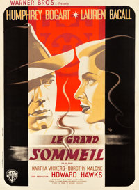 "The Big Sleep (Warner Brothers, 1947). French Grande (47"" X 63"") Portrait Style"