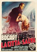 "Movie Posters:Film Noir, The Enforcer (Warner Brothers, 1951). Italian 2 - Foglio (39"" X 55"").. ..."