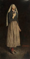 NORMAN ROCKWELL (American, 1894-1978) The Song of Bernadette, 1944 Oil on canvas 53 x 28 in. Signed lower right  ... (To...