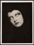 "Movie Posters:Miscellaneous, Joan Crawford by Ruth Harriet Louise (MGM, 1928). Portrait Photo(10"" X 13""). Miscellaneous.. ..."