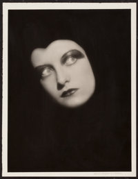"""Joan Crawford by Ruth Harriet Louise (MGM, 1928). Portrait Photo (10"""" X 13""""). Miscellaneous"""