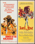 "Movie Posters:Adventure, Sands of the Kalahari and Others Lot (Paramount, 1965). Inserts (8)(14"" X 36""). Adventure.. ... (Total: 8 Items)"