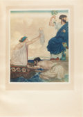 Books:Children's Books, [William Russell Flint, illustrator]. Charles Kingsley. TheHeroes, or Greek Fairy Tales for My Children. London...(Total: 2 Items)