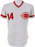 Baseball Collectibles:Uniforms, 1978 Pete Rose Game Worn Cincinnati Reds Jersey....