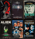 Movie Posters:Science Fiction, Alien by Alan Dean Foster and Others Lot (Warner Books, 1979). Paperback Novels (3) and Paperback Novelizations (17) (Multip... (Total: 21 Items)