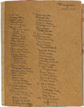 Autographs:Celebrities, [Hollywood] Group of Forty Signed Playbills Dated Between the Years1938-1978 ...