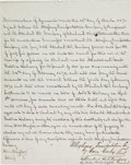 Autographs:Celebrities, [Standard Oil Company]. John D. Rockefeller Contract Signed....