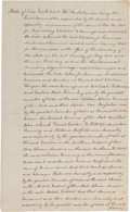 Autographs:Statesmen, [John Jay]. New York Joint Elections Committee Document Signed...