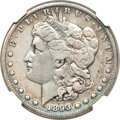Morgan Dollars, 1893-S $1 -- Improperly Cleaned -- NGC Details. VF....