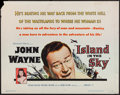 "Movie Posters:Adventure, Island in the Sky (Warner Brothers, 1953). Half Sheet (22"" X 28"").Adventure.. ..."