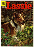 Silver Age (1956-1969):Miscellaneous, Lassie #27 Circle Eight pedigree (Dell, 1956) Condition: VF+....