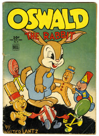Four Color #39 Oswald the Rabbit (Dell, 1944) Condition: GD+