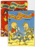Golden Age (1938-1955):Cartoon Character, Looney Tunes and Merrie Melodies #5 and 6 Comics Group (Dell,1942).... (Total: 2 Comic Books)
