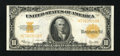 Large Size:Gold Certificates, Fr. 1173 $10 1922 Gold Certificate About New. ...