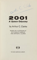 Books:Science Fiction & Fantasy, Arthur C. Clarke. 2001: A Space Odyssey. New York, [1968].First edition, first printing. Signed on the title page...