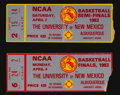 Basketball Collectibles:Others, 1983 NCAA Finals and Semi Finals Ticket Stubs - From Jimmy V'sNorth Carolina State Championship!...
