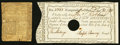 Colonial Notes:Connecticut, Connecticut June 19, 1776 1s 3d Good. Connecticut 1790 InterestPayment Certificate 10s AU.. ... (Total: 2 items)