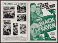 "Movie Posters:Mystery, The Black Raven & Other Lot (PRC, 1943). Uncut Pressbooks (2)(Multiple Pages, 12"" X 18""). Mystery.. ... (Total: 2 Items)"