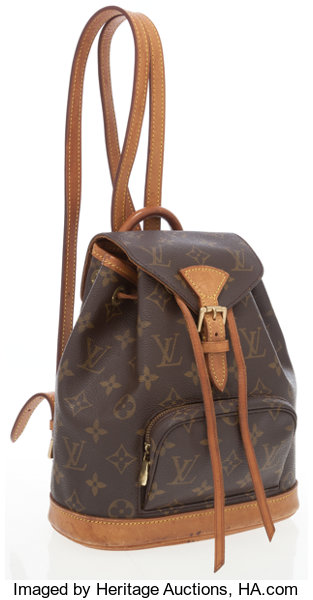 0711f9745247 Louis Vuitton Classic Monogram Canvas Mini Montsouris Backpack