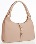 Luxury Accessories:Bags, Gucci Light Pink Leather Mini Jackie Shoulder Bag with GoldHardware. ...