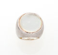 Luxury Accessories:Accessories, Ippolita Sterling Silver Ring with Quartz and Mother of PearlDoublet. ...