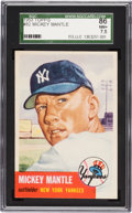 Baseball Cards:Singles (1950-1959), 1953 Topps Mickey Mantle SP #82 SGC 86 NM+ 7.5....