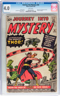 Silver Age (1956-1969):Superhero, Journey Into Mystery #83 (Marvel, 1962) CGC VG 4.0 White pages....