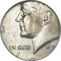 Errors, Undated 50C Kennedy Half -- Struck on a Clad Dime Planchet -- MS64NGC....
