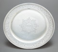 Silver Holloware, American:Plates, A TIFFANY & CO. SILVER FOOTED PLATE. Tiffany & Co., NewYork, New York, circa 1908-1947. Marks: TIFFANY & CO.,STERLING SI...