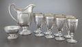 Silver Holloware, American:Water Pitchers, AN TEN PIECE TOWLE SILVERSMITHS LOUIS XVI PATTERN SILVERBEVERAGE SET . Towle Silversmiths, Newburyport, Massach... (Total:10 Items)