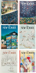 Books:Periodicals, John Updike. Collection of Contributions to The NewYorker.... (Total: 790 Items)