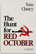 Books:Fiction, Tom Clancy. The Hunt for Red October. Annapolis: NavalInstitute Press, [1984]. First edition, first printing. ...