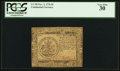 Colonial Notes:Continental Congress Issues, Continental Currency November 2, 1776 $5 PCGS Very Fine 30.. ...