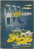 Books:Mystery & Detective Fiction, Raymond Chandler. The High Window. New York: Alfred A.Knopf, 1942. First edition, first printing. ...