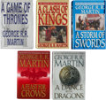 Books:Science Fiction & Fantasy, George R. R. Martin. A Song of Ice and Fire Series. NewYork: Bantam Books, [1996-2011]. Titles include: ... (Total: 5Items)