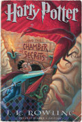 Books:Children's Books, J. K. Rowling. Harry Potter and the Chamber of Secrets. [NewYork]: Arthur A. Levine Books, an Imprint of Schola...