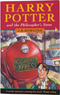 Books:Children's Books, J. K. Rowling. Harry Potter and the Philosopher's Stone. [London]: Bloomsbury, [1997]. First edition, first printing...