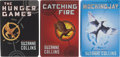 Books:Science Fiction & Fantasy, Suzanne Collins. The Hunger Games Trilogy, including: The HungerGames; Catching Fire; Mockingja... (Total: 3Items)