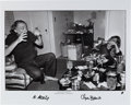 Books:Photography, [Charles Bukowski]. Michael Montfort. Carlton Way Suite. TwelvePhotographs of Charles Bukowski. Los Angeles: Pr...
