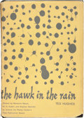 Books:Literature 1900-up, Ted Hughes. The Hawk in the Rain. New York: [1957]. Firstedition. Signed and dated....