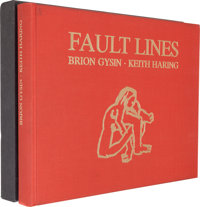 [Keith Haring, drawings]. Brion Gysin. Fault Lines. Munich and New York: Edition Sch